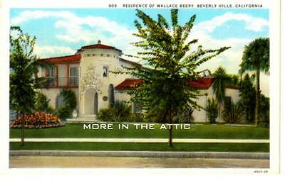 Welcome To The Home Of Mgm Star Wallace Beery