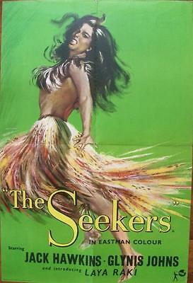 Laya Raki Jack Hawkins The Seekers Original Uk Double Crown Poster #1