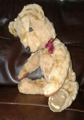 Antique Vintage old Teddy Bear 17.5 inches Quality maker poss Chad Valley
