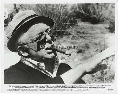 Director Billy Wilder Doing What He Did Best