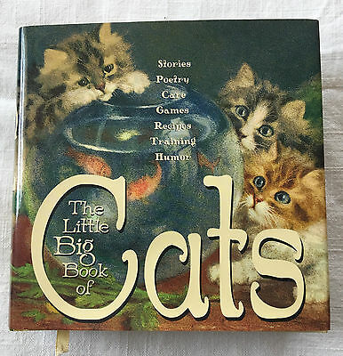 Little Big Book of Cats Stories Poetry Care Games Recipes Training Humor