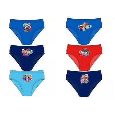 Boys Go Jetters 3 Pairs Character Pants Underwear Briefs Cotton Free P&P