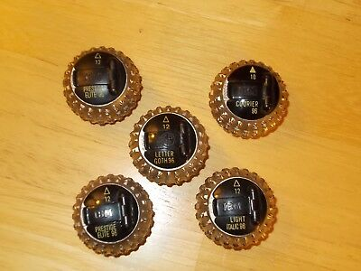 IBM Selectric Typing Heads - Used - Lot Of 5