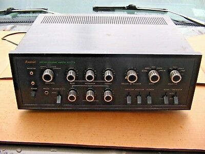 Vintage Sansui Au-777A Amplifier 60'S Solid State Stereophonic High-End Project
