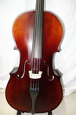 3/4 Kreisler Cello with case and bow. Ready to be played 2017 model