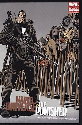 MARVEL UNIVERSE VS THE PUNISHER #1 FINE 2nd Print VARIANT Zombies
