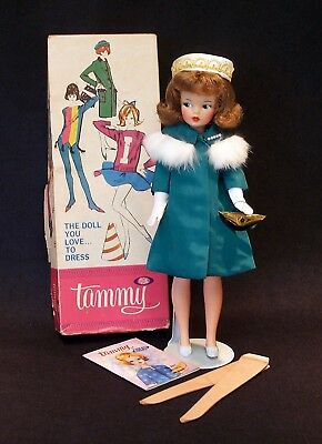 Red Haired Straight Leg Tammy Doll MIB -  On the Town Outfit - Near Mint