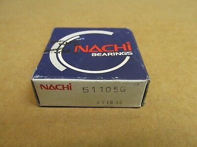 NIB NACHI 51105G THRUST BEARING 51105 G 25x42x11 mm