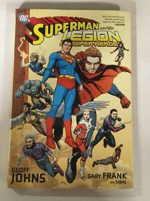 Superman And The Legion Of Super Heroes HC NM Near Mint DC Comics Geoff Johns