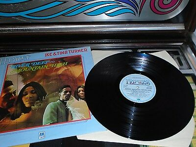 Ike & Tina Turner Vinyl Album River Deep Mountain High ( Amlp 8013