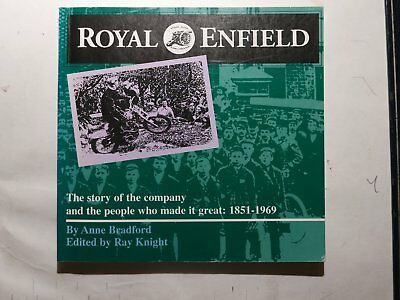 "Royal Enfield Motorcycle book 1856 - 1969 Good condition  ""Story of the Company"
