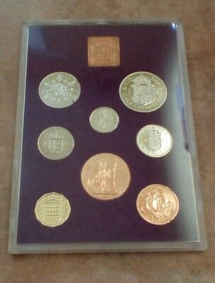 1970 royal mint proof set of UK  coins.