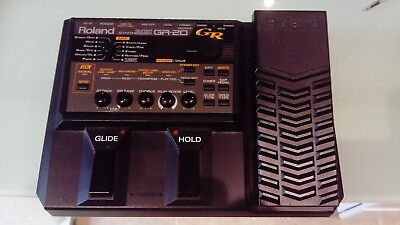 Roland GR-20 Guitar synthesizer plus GK-3 pickup and 13 pin connecting lead