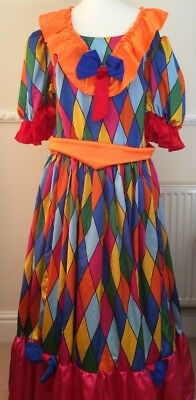 Fabulous  Vibrant 4- Part Adult Pantomime Dame Costume -Theatrical/ Stage /Panto
