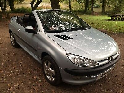 2001 Peugeot 206 Cc *automatic*1 Lady Owner From New*low Miles*service History*