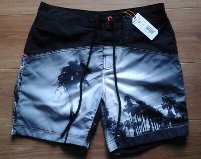 Brand New With Tags Mens Superdry Swim Shorts Size Medium