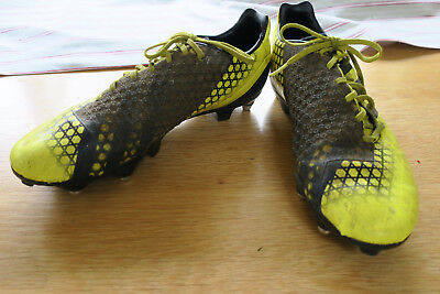 Rugby Boots Adidas Predators Size 9 yellow