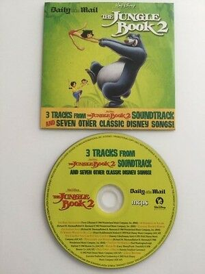 Disney Cd Songs From Jungle Book The Aristocats Snow White Mary Poppins Promo