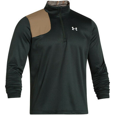 Under Armour Borderland 1/4 Zip Canopy Green X-Large