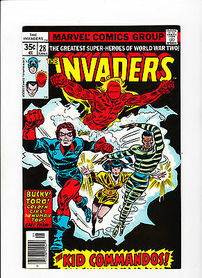 The Invaders #28 (May 1978, Marvel)