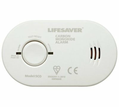 Kidde Lifesaver 5CO Carbon Monoxide Alarm for Shelf / Ceiling / 3xAA's Batteries