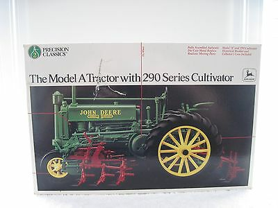 Ertl 1/16 John Deere Model A Precision #2 Tractor With 290 Series Cultivator Mib