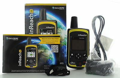 DELORME- inReach SE- 2 Way Satellite Communicator & GPS