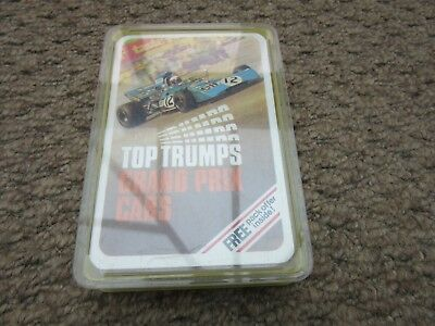 Vintage Dubreq Top Trumps Card Game Grand Prix Cars Boxed Complete Excellent