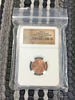 2009-P Lincoln Formative Years - Brilliant Uncirculated - NGC