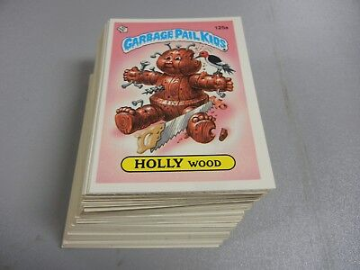 1986 Garbage Pail Kids GPK USA Series 4  Complete Set  84 cards Near Mint!