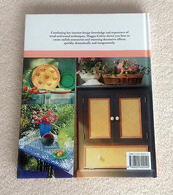Hardback Book On Instant Style Decorating ( New )