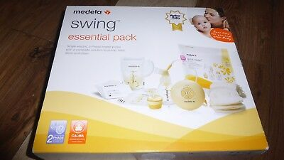 Medela Swing Essential Single Electric Breast Pump, Breast Feeding Pack