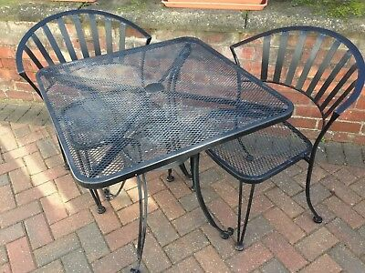 Bistro Set - Metal Table and 2 Chairs