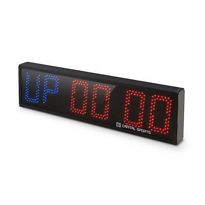 Capital Sports Cross Fitness Training Home Fit Gym Timer Zeit 6 Ziffern Signal