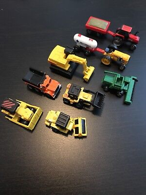 Micro Machines Farm And Construction Vehicles