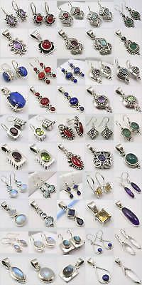Wholesale! 25 Lovely 925 Silver Earrings Pendant Sets!