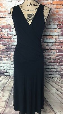 8748fac6ec6d Women's CAbi Black After Five Classic Ruched Sleeveless Dress Style #497 ...