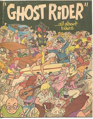 Ghost Rider 1977-All About Bikes-promo comic-not in price guide-VG/FN