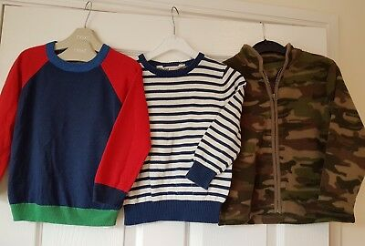 NEXT M&S MOTHERCARE H&M Boys Bundle Shirts Tops Shirts Jumpers Winter Age 3-4