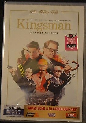 Kingsman Services Secrets   Film Dvd  Neuf Sous Blister