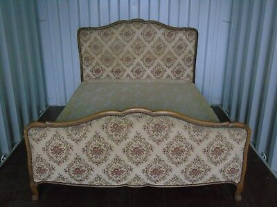 Vintage French Double Bed ~ Unique With Original Box Base