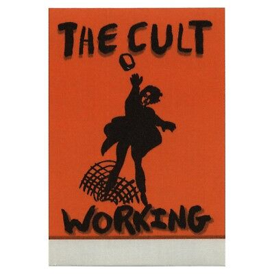 The Cult authentic Working 1994-1995 tour Backstage Pass