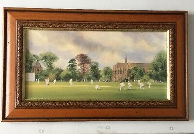 Terry Harrison Cricket Print