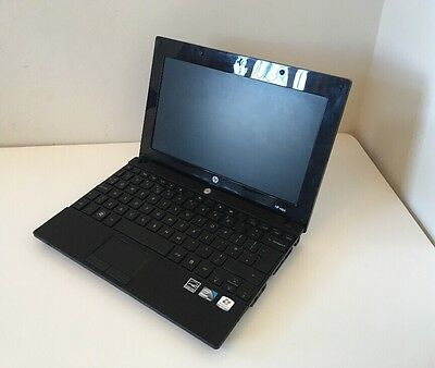 HP MINI 5102 INTEL ATOM LAPTOP -1.66GHz -250GB-1GB-WIN 10- B'TOOTH-W'CAM-10.1""