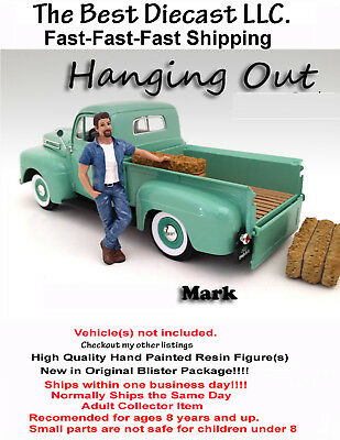 Hanging Out Mark American Diorama Resin Figure Only 1:24