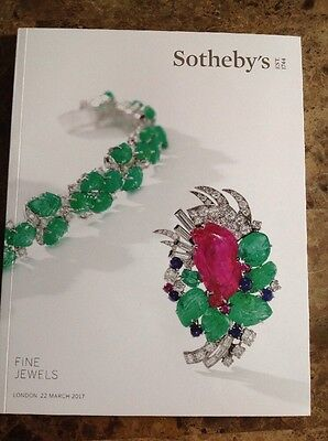 Sotheby's Fine Jewels London 22 March 2017