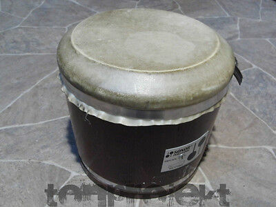 vintage SONOR ROTO TOM single ROTOTOM Holz stimmbar tuneable  Naturfell