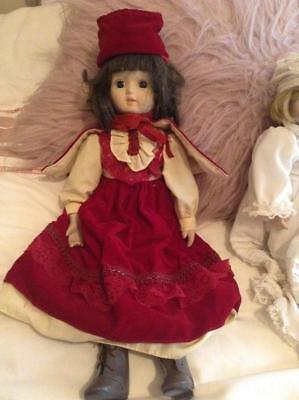 Victorian Style China Porcelain Doll