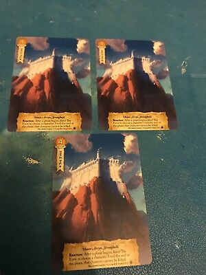 3 The Eyrie Game Of Thrones Lcg FFG Promo Alt Art Cards