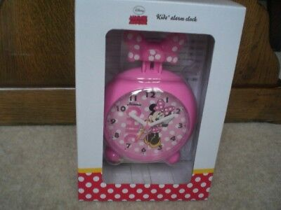 Minnie Mouse Alarm Clock, Brand New,  Unopened Box, Battery Included